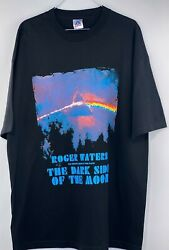 Vintage Roger Waters Tour 2006 Dark Side Of The Moon Shirt Size XL Black $59.99