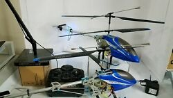 Lot of 2 Protocol Heli raider Helicopter 24quot; Big Parts or Repair $110.00