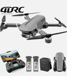 4DRC F4 Drone 4K Profesional GPS WiFi FPV 5G Drone HD 2 Axis Gimbal Brushless $199.99