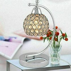 Modern Decorative Lamp with Crystal Shade for Living Room Coffee Table Bedroom $26.99