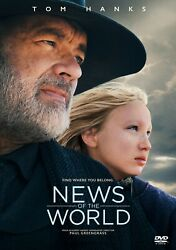 News of the World w Tom Hanks DVD New Sealed w Free Shipping $13.95