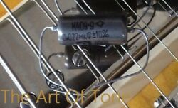 .022uf @ 400v K40Y 9 Russian Paper In Oil Capacitor New Old Stock $8.75