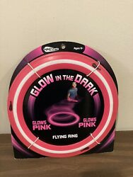 OGLO Sports Glow in the Dark Pink Flying Ring Frisbee $12.99