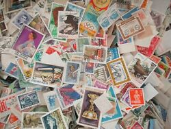 5000 World Stamps off Paper free shipping. $53.99