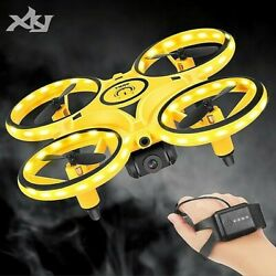 Mini Drone with 480p camera Quadcopte Remote Control Helicopter Toy For Boy 2021 $65.00