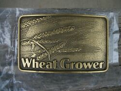 Agrico Wheat Grower Advertising Belt Buckle $5.00