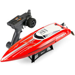 UDI RC Racing Boat Brushless High Speed Electronic Remote Control Boat Adult Red $144.98