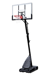 Spalding 54quot; Shatter proof Polycarbonate Exactaheight® Portable Basketball Hoop $247.37