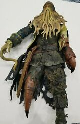 Rare Davy Jones Statue Toy Talking 15.5quot; 1 4 Size Pirates Caribbean Sparrow See $80.00