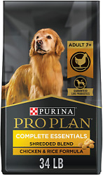 Purina Pro Plan Adult 7 High Protein Senior Dry Dog Food amp; Wet Do $70.32