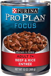 Purina Pro Plan Adult 7 High Protein Senior Dry Dog Food amp; Wet Do $32.49