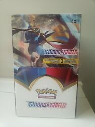 Pokemon Sword And Shield Dollar Tree Box x96 3 Card Packs New Not weighed $150.00