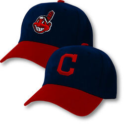 Cleveland Indians Cap Hat Embroidered Adjustable Curved Men Chief Wahoo $16.16