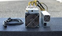 Bitmain Antminer S9 Bitcoin Miner 13.5 th s used with PSU : ONLY 1 Left $500.00