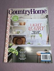 Country Home Magazine Summer 2021 Fresh Takes on Your Favorite Style Free Ship $5.99