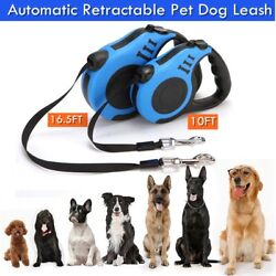 10 16FT Dog Leash Automatic Retractable Walking Pet Collar Rope Extendable $8.32