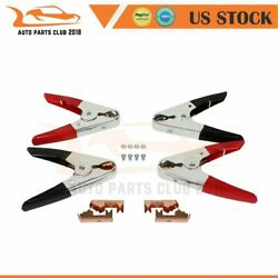 Jumper Replacement 4pcs 1100AMP Parrot Battery Booster Jumper Cable Clamps $40.74