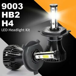 2Pack H4 9003 HB2 Brightest LED Headlight Bulbs High Low Beam 6500K IP67 Rated $13.99