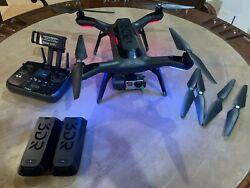 3DR Solo Quadcopter Drone with GoPro Gimbal and Luxury Backpack  Gently Used  $325.00