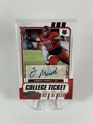 Forrest Merril 2021 Contenders Draft Picks Auto Panini RC Chargers $4.99