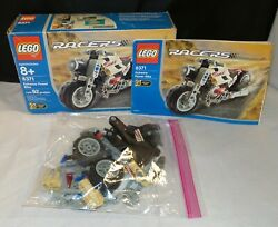 LEGO Racers 8371 Extreme Power Bike COMPLETE w Box. $13.05