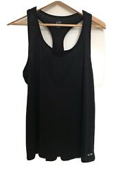 Champion C9 Women#x27;s Duo Dry Black Running Breathable Tank Top Size XLarge $9.00