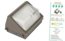 75W LED Wall Pack Outdoor Commercial Lighting 75W 200W Equiv. 5000K