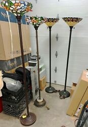 Stained Glass Floor Lamps $400.00