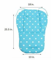 Pink Blue Baby Boy Girl Cover Cushion Pad Support for Evenflo Booster Seats New $14.99