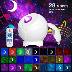 Galaxy Projector Starry Sky Night Light Ocean Star Party Speaker LED Lamp Remote $30.00