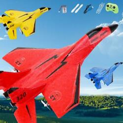 EPP Foam RC Aircraft 2.4G 2 Channel Fixed Wing Glider Fighter for Beginner $20.49