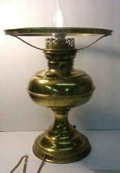 Vintage Electrified RAYO BRASS OIL LAMP working condition #2 $22.50