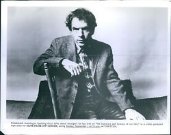 Photo Actor Alive From Off Center Spalding Gray Monologist Thirteen 8X10 $19.99