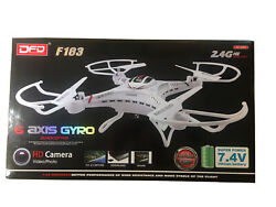 BRAND NEW DFD F183 2.4G 6 Axis RC QUADCOPTER HD CAMERA DRONE $34.99