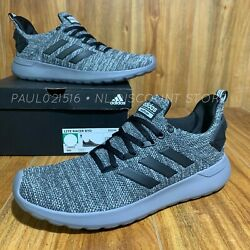 ADIDAS Men's Cloudfoam Lite Racer BYD Running Shoes Gray Sizes amp; Condition $49.99