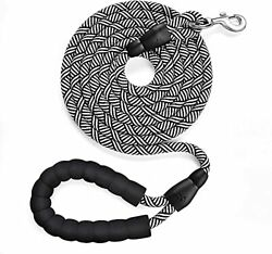 10FT Reflective Dog leashes Heavy Duty Dog Leash with Comfortable Padded Hand... $13.82
