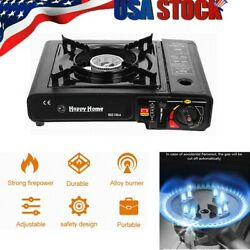 Portable Gas Cooker Stove Butane Burner Camping Indoor Outdoor Tabletop Stove $23.85