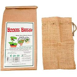 Boogie Brew Compost Tea 2 Part Formula 3 Pounds Makes 50 Gallons. The Organic $39.98