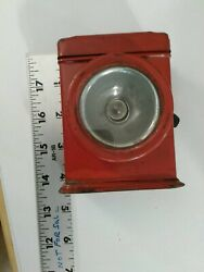 Vintage Small Battery Red Lamp $4.00