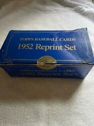1952 Topps COMPLETE 1983 Baseball Re Print Set *** Mickey Mantle RC *** WITH BOX $223.00