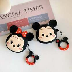 Cute Soft Silicone Mickeyamp;Minnie AirPods Case Pro 1 2 Gen US Same Day Shipping $8.99