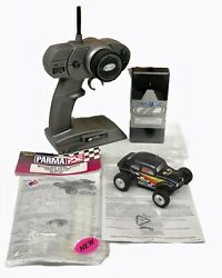 Losi Micro BAJA Micro T 1 36 Vintage Rc With Rare Parma Late Model Body Tested $199.99