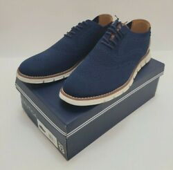 NEW Nautica Lightweight Oxford Navy Blue Shoes Mesh Knit Upper Casual Mens 13 $28.98