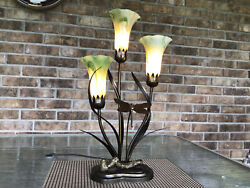 """Dale Tiffany """"Dragonfly"""" Lamp Large $165.00"""