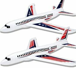 BooTaa 2 Pack 20quot; Airplane Toys Outdoor Kids Toys Large Foam Plane Glider $24.95