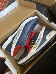 Fila Original Limited Edition 90#x27;s Rugrats Blue Leather Sneakers Mens 12 $40.00