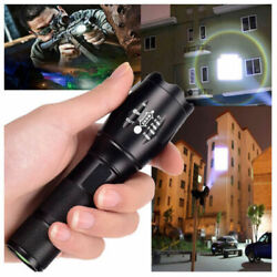 900000LM High Powered Tactical LED Flashlight Super Bright Torch Zoomable Lamp $4.80