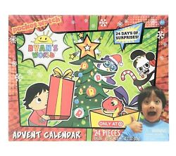 NEW SEALED Ryan's World Advent Calendar 24 Pieces Target Exclusive Christmas $49.99