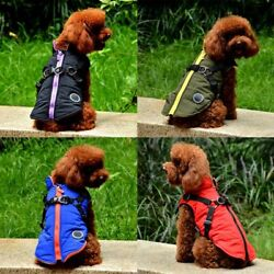 Pet Vest Jacket Puppy Dog Waterproof Warm Clothes Small Large Winter Padded Coat $9.97