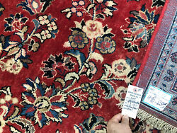 10x14 RED ANTIQUE RUG HAND KNOTTED WOOL handmade oriental vintage carpet 10x13 $1488.00